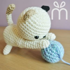 Crochet Playful Kitty Amigurumi