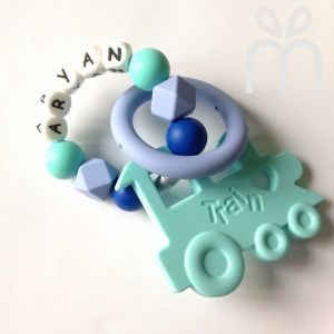 Personalized Teething Set | Train Series