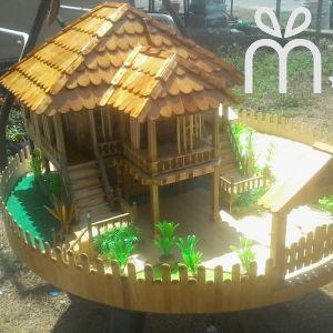 Rumah Replika Kampung