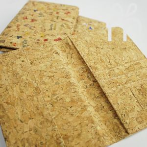 EcoQuote Passport Holder Simple Handmade Eco-Friendly Cork Material, Sustainable & Great For Vegan