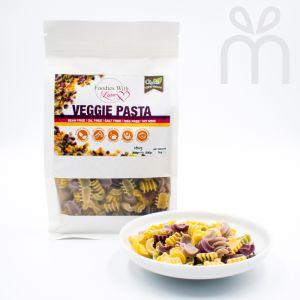 Homemade Organic Veggie Pasta (Spiral)