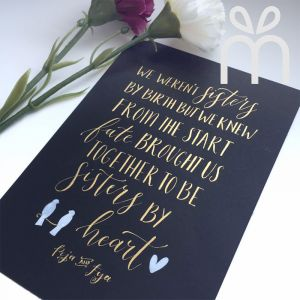 Handmade Calligraphy Greeting Cards