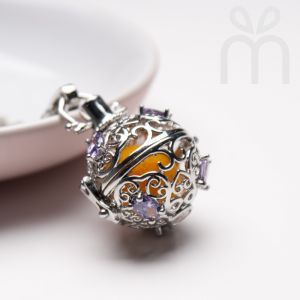 Lavendula Perfume Necklace