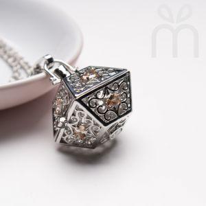 Magic Box Perfume Necklace