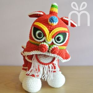 Lion Dance Doll Amigurumi