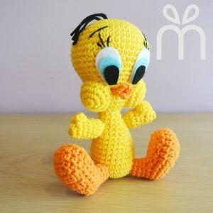 Crochet Tweety Bird Amigurumi