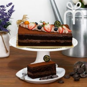 Gianduja Dark Chocolate Cake