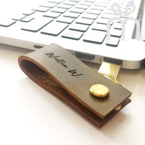 Personalised In-style Leather USB Drive