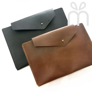 Personalised InStyle Leather Laptop Sleeve