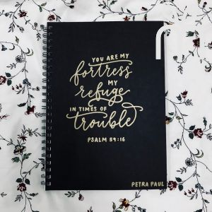 Custom Calligraphy Notebook (Ring)