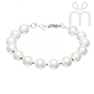 Classic Kris Shell Pearl Bracelet
