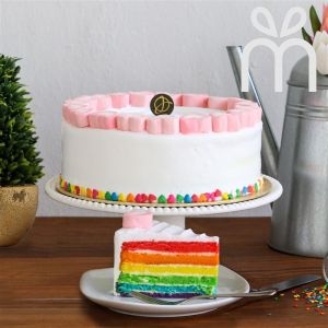 Colours of My Life (Rainbow Cake)