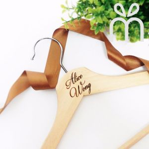 Personalised Wooden Hanger