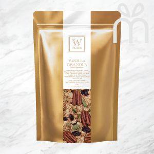 VANILLA GRANOLA (Vegan)   250g