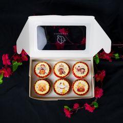 GongXiFattCai Cupcake - 2021 Chinese New Year CNY