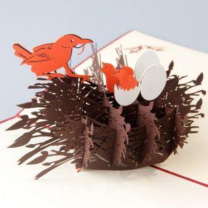 Handmade 3D Greeting Card - Parent's Love