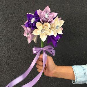 Paper Flowers Bridal Kusudama Hand Bouquet