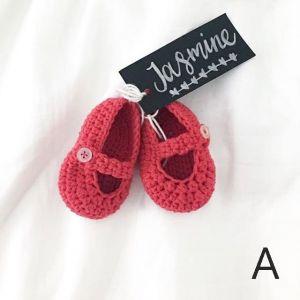 Handmade Crochet Baby Shoes