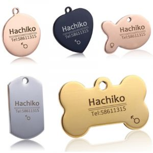 Personalized Stainless Steel Pet Tag