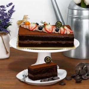 Gianduja Dark Chocolate Cake