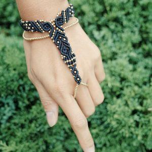 Delicate Macrame Slave Bracelet 【RB02】