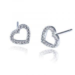 Premium My Heart Stud Earrings
