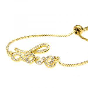 Luna Lovely  Adjustable Chain Bracelet