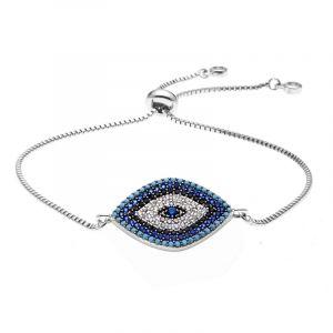 Luna Eyes Adjustable Chain Bracelet