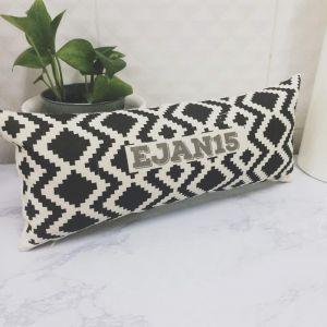 Personalized Tribal Pattern Long Pillow
