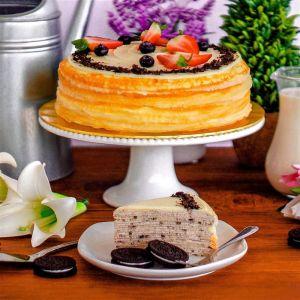 Oreo Crepe Cake