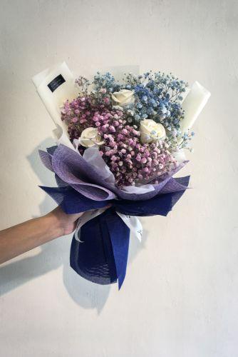 Respiro Bambino Blu Viola