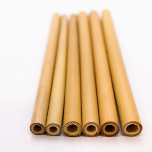 EcoQuote Handmade Bamboo Straws Eco Friendly, Reusable & Sustainable ~ An End to Plastic