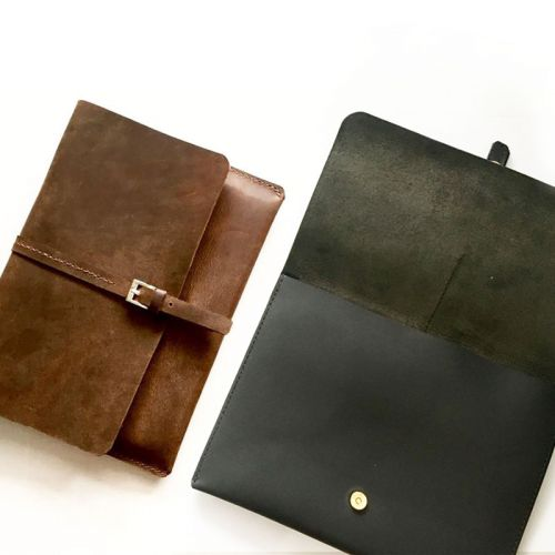 Personalised InStyle Leather Ipad/Man Clutch