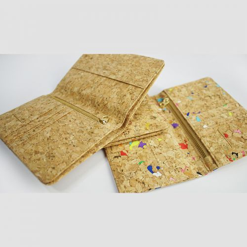 EcoQuote Passport Holder Deluxe Hadmade Cork Eco-Friendly Material & Sustainable