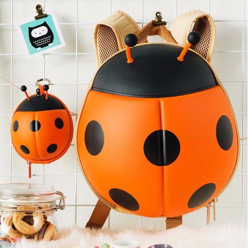 Qbag Ladybird Backpack for Kids