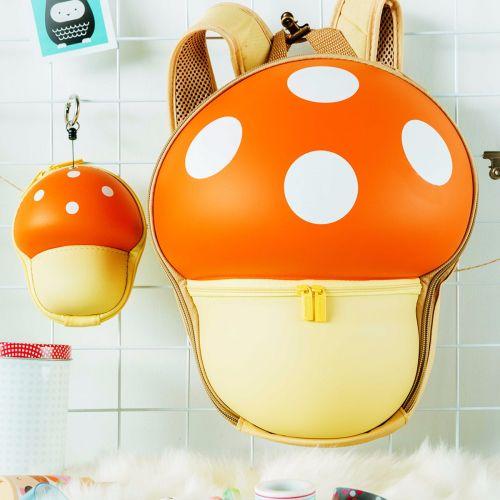 Qbag Mushroom Backpack for Kids