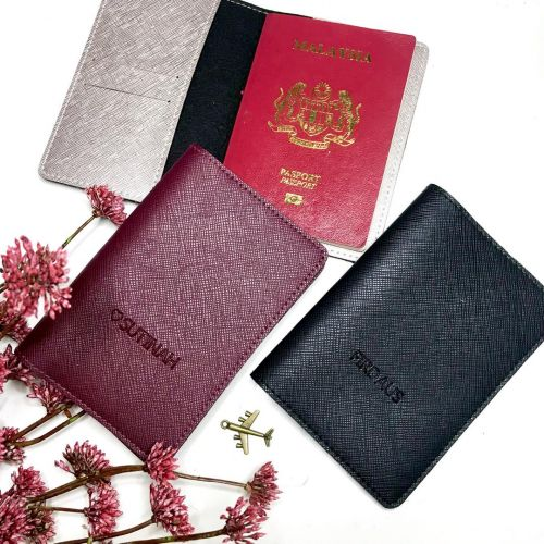 Personalised PU Passport Cover