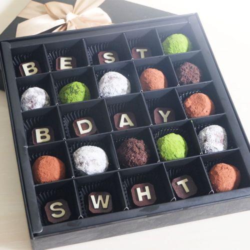 Elegant Chocolate Truffles Gift (25pcs)