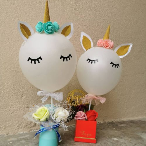 Unicorn soap flower box