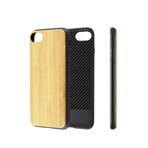 EcoQuote iPhone 7 / 8 Handmade Phone Case Eco-Friendly Bamboo & Cork Material,  Sustainable & Great For Vegan