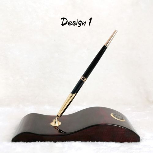 [FREE NAME ENGRAVE] Duke Stand Pen Holder Sets