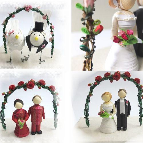 Wedding Figurine  - Fine Handcrafted Wedding Collection