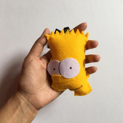 Handmade Bart Simpsons