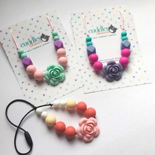 Teething Necklace for Mummy & Toddler