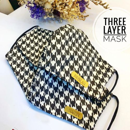 Customised Three Layer Mask