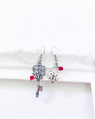 Key to Heart Earrings