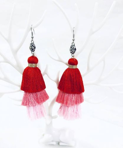 Ombre Tassel Earrings (4 Colours Available)