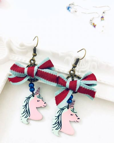 Unicorn Earrings (2 Designs Available)