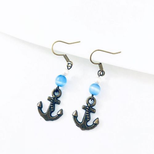 The Anchor Earrings (2 Designs Available)