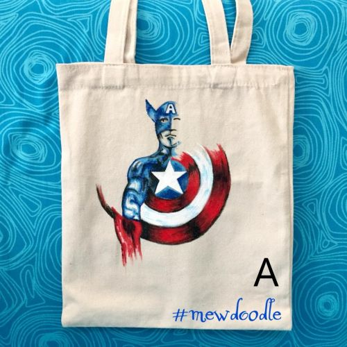 Limited Edition Handpainted Tote Bag